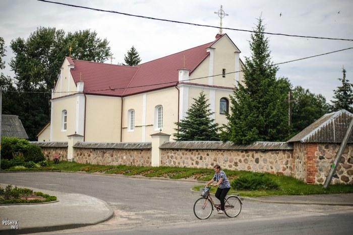 Жодишки храм в Беларуси