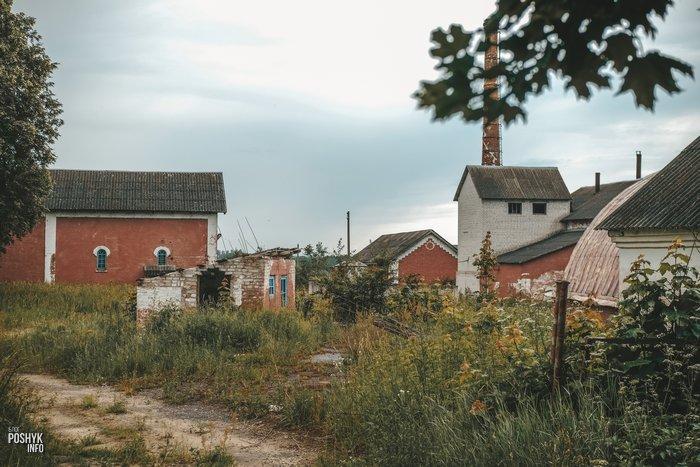 Больково заброшенные здания