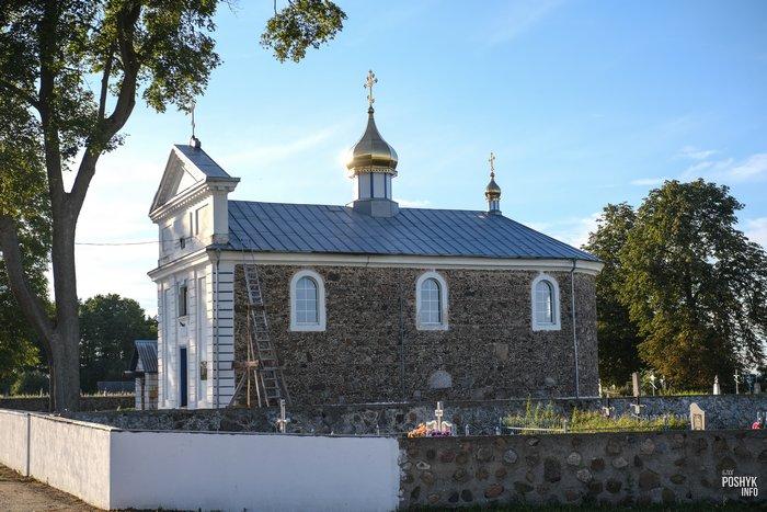 Самуйловичи Дольные церковь