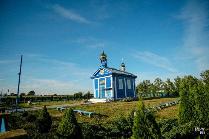 Церковь деревня Пацевичи
