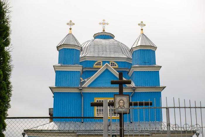 Деревянная церковь Смоляны