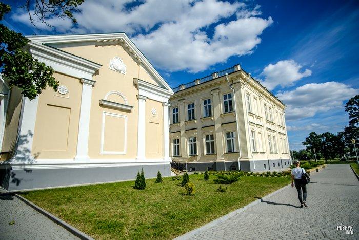 Дворец в Щучине