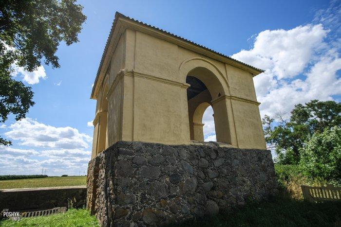 Колокольня деревня Дикушки