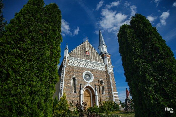 Костел в Рожанке