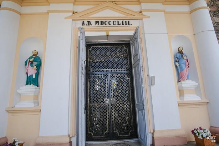 Костел Вознесения Девы Марии в поселке Желудок