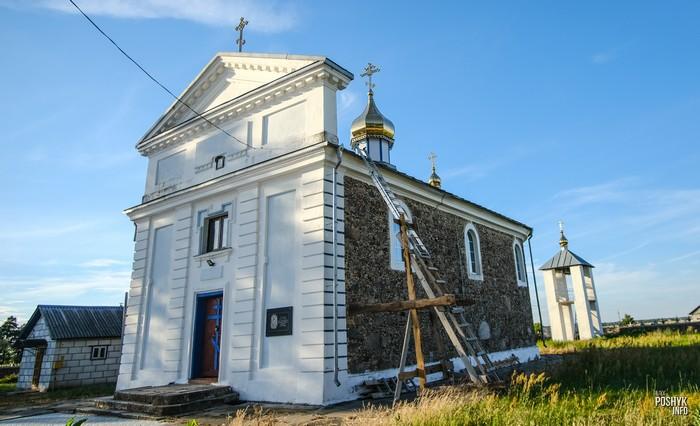 Деревня Самуйловичи церковь