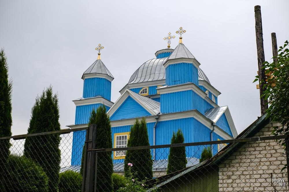 Спасо-Преображенская церковь в Смолянах