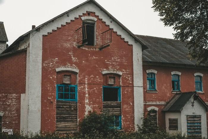Заброшенный спиртзавод в Больково