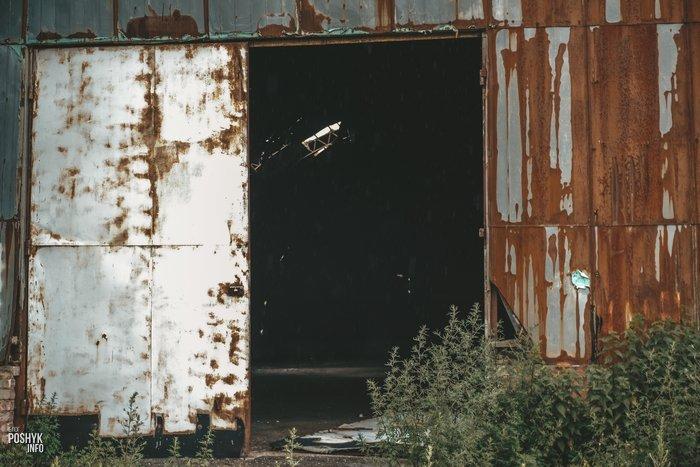 Заброшенный спиртзавод в Больково;