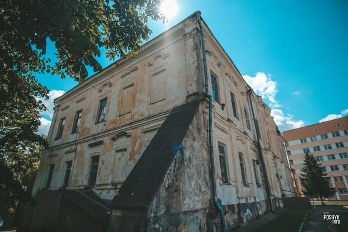Дворец в Дятлово