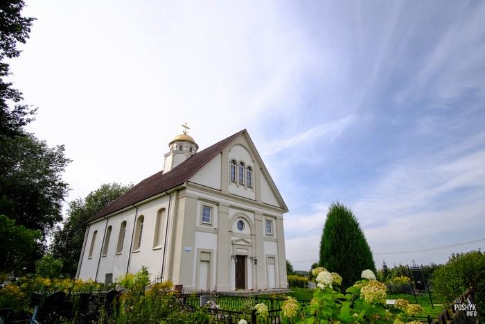Церковь деревня Семков Городок