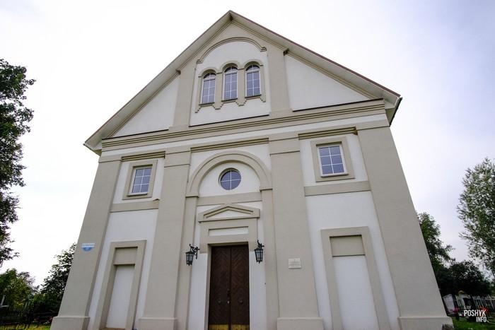 Церковь в деревне Семков Городок