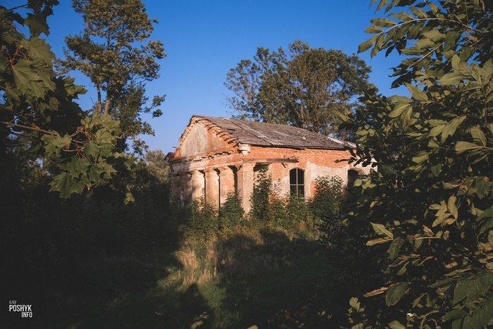 Часовня в деревне Заушье Беларусь