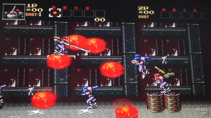 Стрелялка на сегу - Интересные игры на сегу Contra