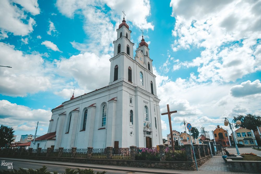 Костел в Дятлово Беларусь