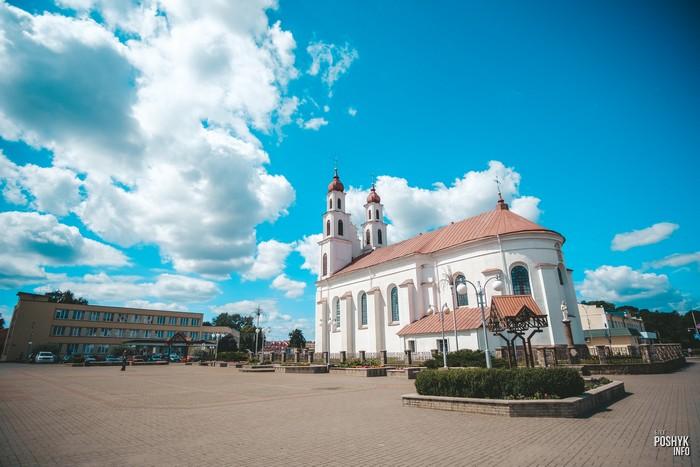 Достопримечательности Беларуси, костел в Дялтлово