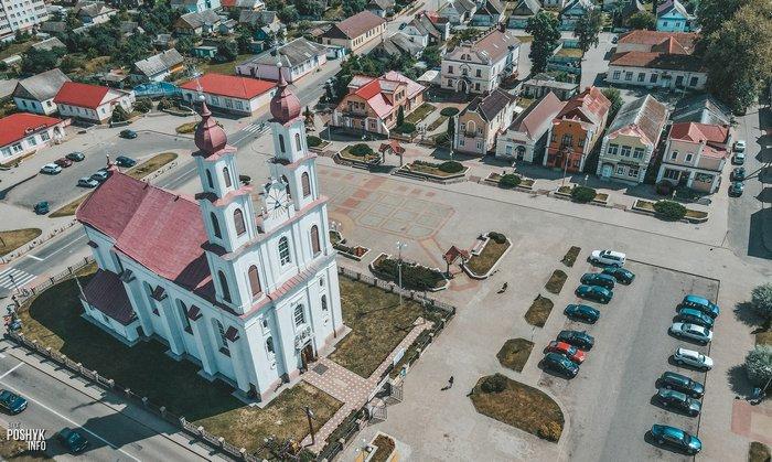 Костел в Дятлово