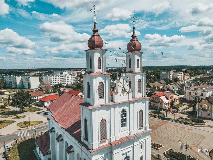 Костел в стиле виленское барокко Дятлово