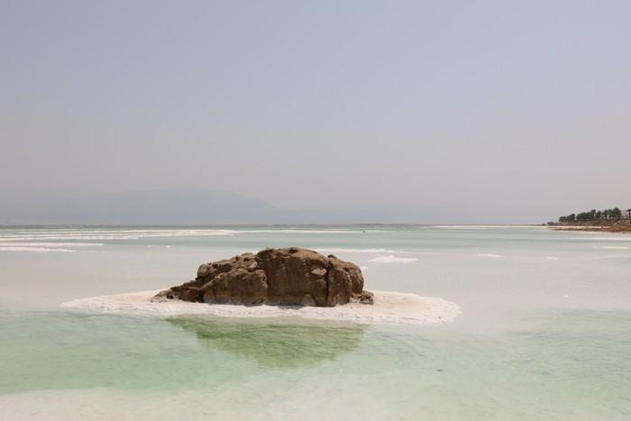 Фотография мертвого моря