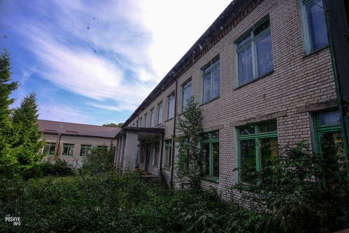Заброшенная школа интернат под Минском