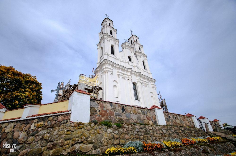 Троицкий костел город Глубокое