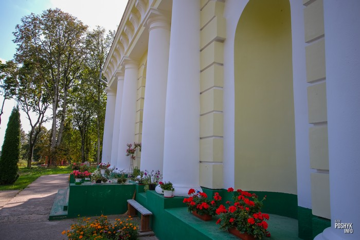 Костел в деревне Воронча