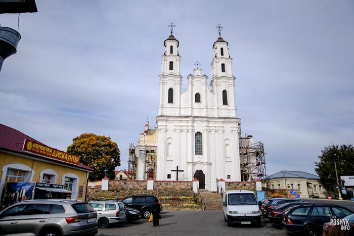 Костел в Глубоком Беларусь