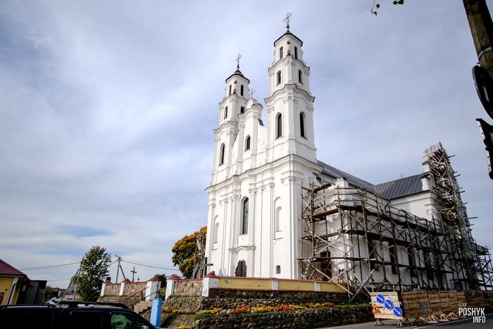 Костел в городе Глубокое