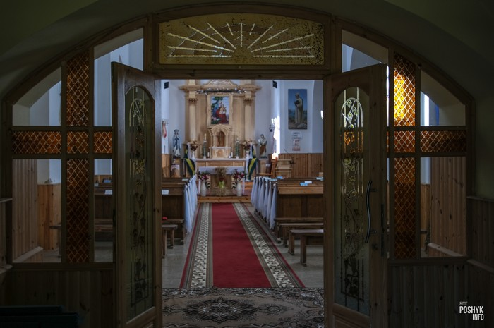 Костел Ворончо фото внутри