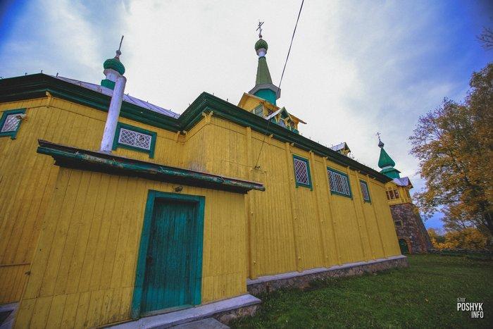 Покровская церковь в деревне Осингородок