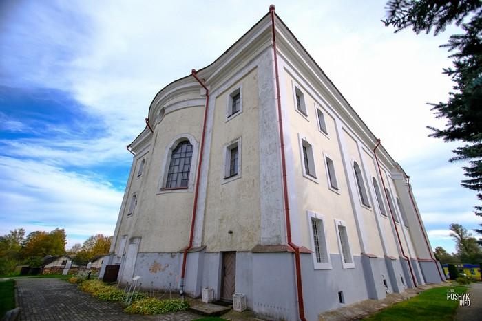Костелы витебской области
