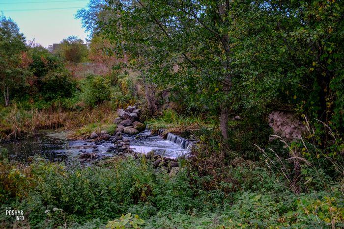 Водопад в витебской области
