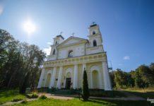 Костел святой Анны деревня Воронча