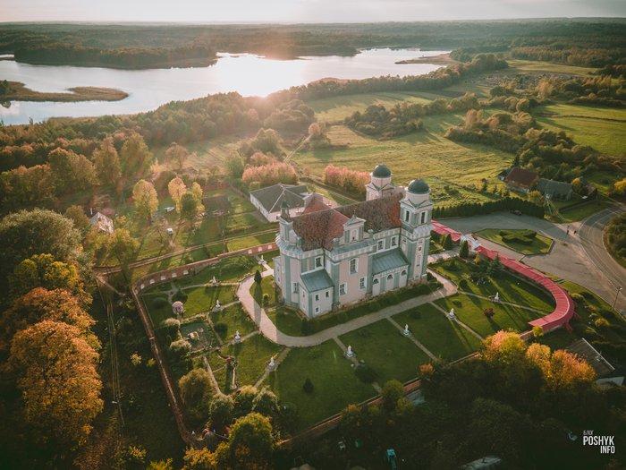 Костелы Беларуси Лучай, Витебская область