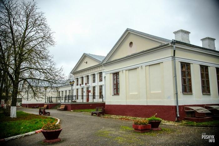 Усадьба дворец Тызенгауса в городе Поставы