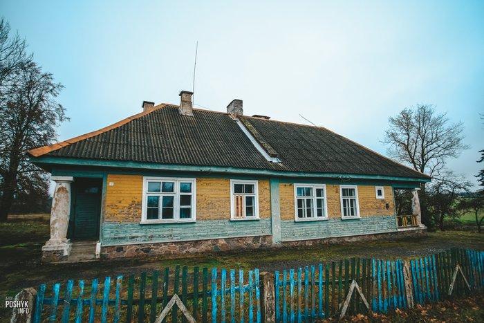 Комарово здание школы 1935 года