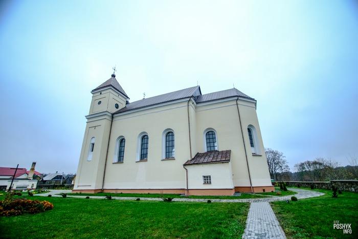 Костел в Михалишки