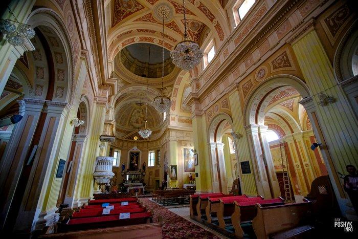 Лучай костелы Витебской области