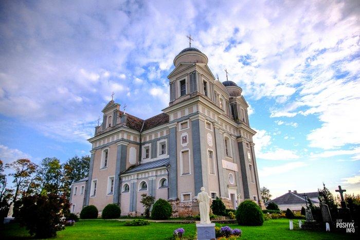 Красивые костелы Беларуси - Лучай