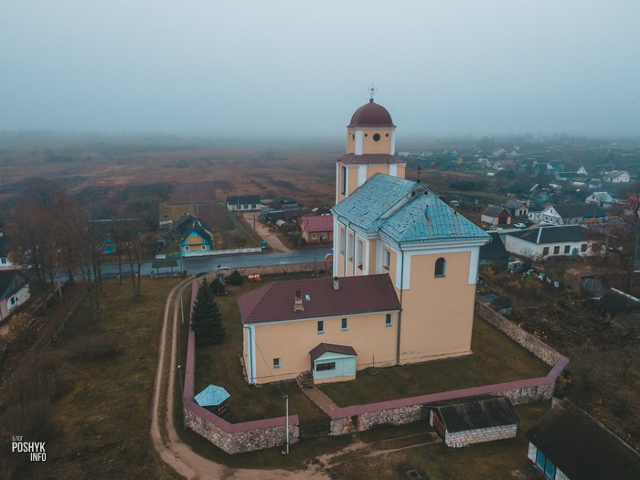 Костел и монастырь в Кричеве
