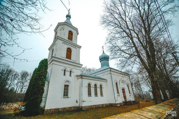 Церковь в деревне Кривичи