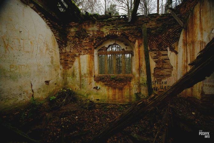 Маньковичи руины