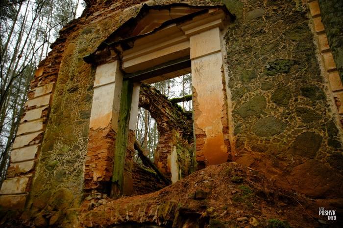 Руины часовня-усыпальница Друцких-Любецких