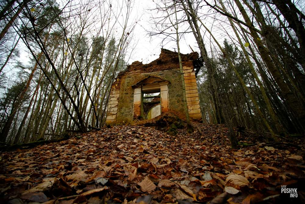 Маньковичи водопад и руины усыпальницы