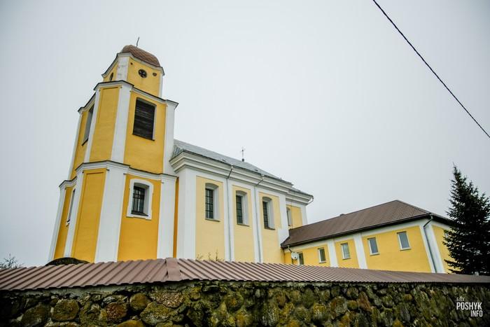 Костел и монастырь в Кричиве