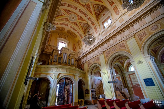 Орган в костеле Лучай