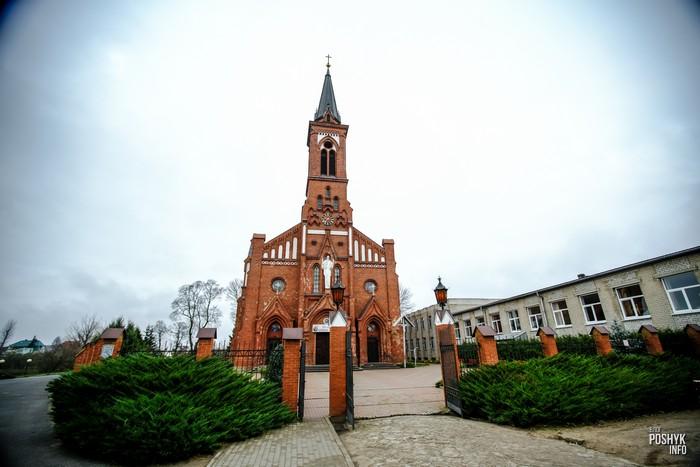 Костел святого Антония Падуанского в Поставах