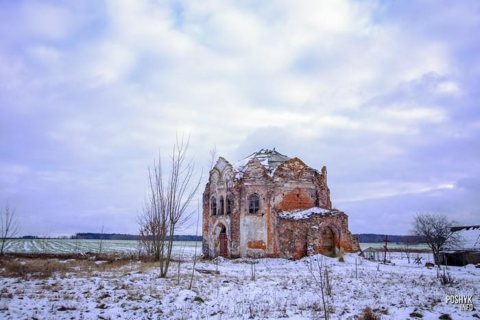 Церковь в агрогородке Сидоровичи