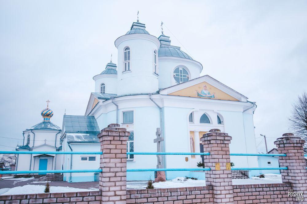 церковь Покровская в деревне Вейно