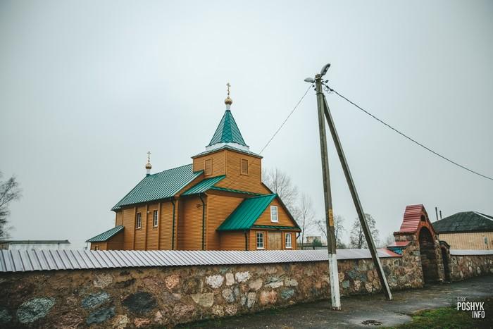 Троицкая церковь в деревне Княгинин